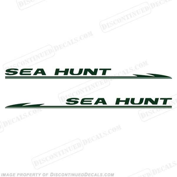 Sea Hunt Boat Decals Any Color - Bayliner boat decals
