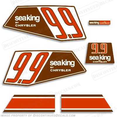 Sea King 1986 9.9HP Decals