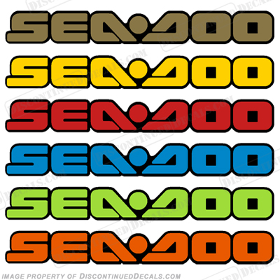 Sea-Doo Decal - Choose Color!
