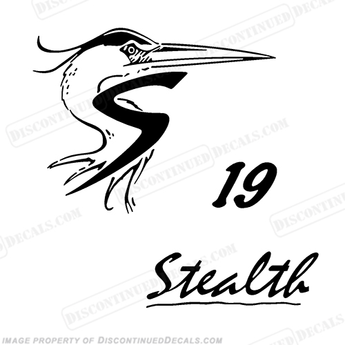shoalwater 19 stealth boat decals