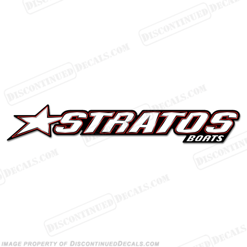 """Stratos Boats For Sale >> Stratos Boats Logo Decal - 24"""""""