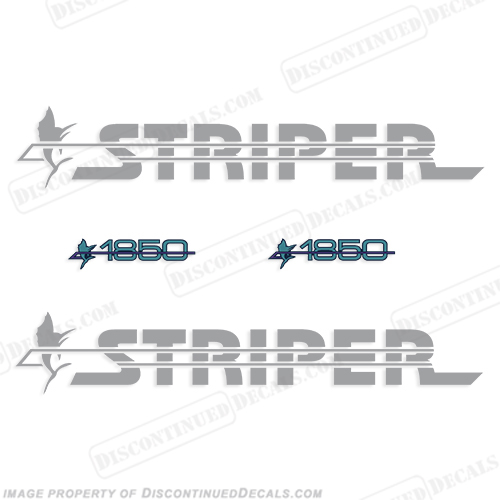 Striper 1850 Boat Decal Package