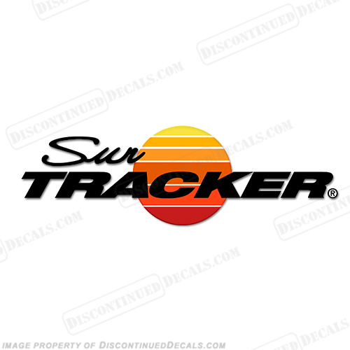 Sun Tracker Logo Decal