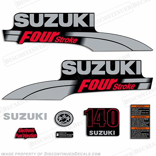 suzuki 140hp df140 decal kit