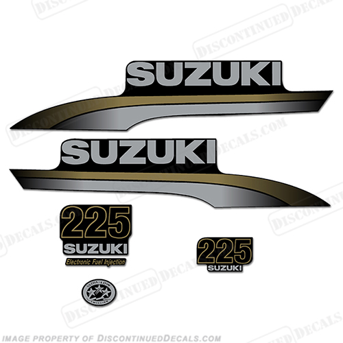 Custom Suzuki 225 Decal Kit