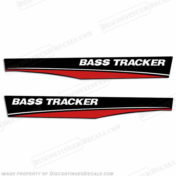 Bass Tracker Decals - Bayliner boat decals