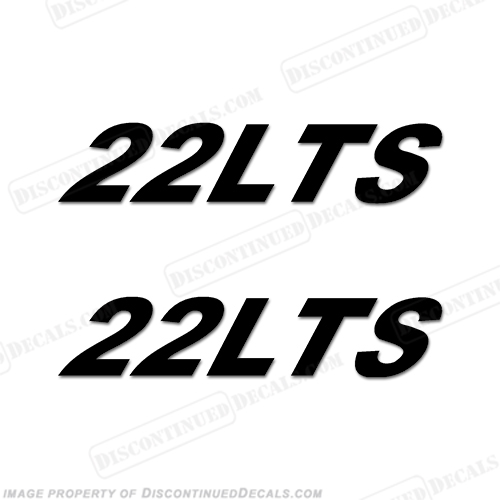 Triton Boats Decals - 22LTS