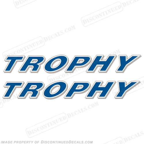 Trophy Decals - Bayliner boat decals