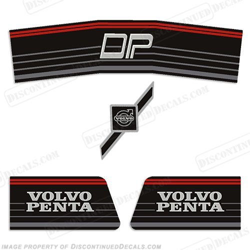 Volvo Penta 290 Stern Outdrive Decals