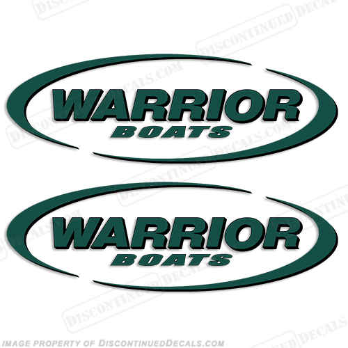 Product Reviews for Warrior Boats Logo Decals (Set of 2) - Any Color!