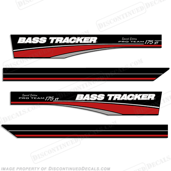 Bass Tracker Pro Team 175 Xt Decals Special Edition