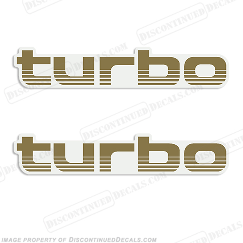 "Toyota Landcruiser ""Turbo"" Decals - Any Color!"