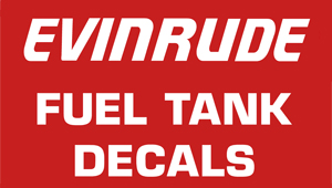 Evinrude Fuel Decals