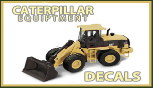 Caterpillar Decals