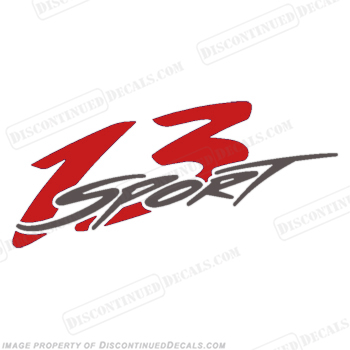 Boston Whaler 13 Sport Decal - Red