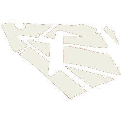 600RR Left Fairing Decals (White)