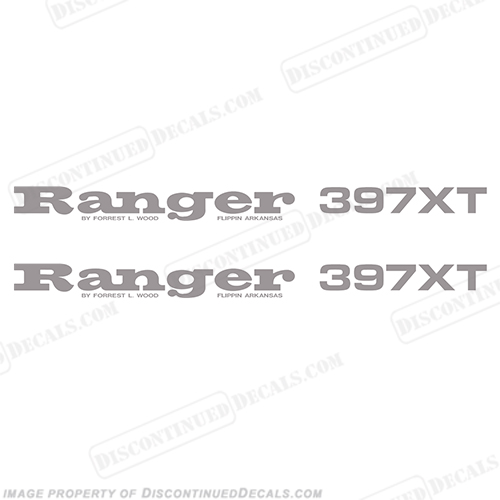 Ranger 397XT Decals (Set of 2) - Any Color!