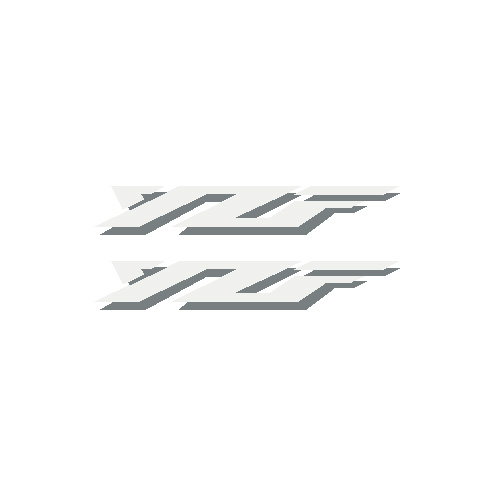 "R6 ""YZF"" Decals (set of 2)"