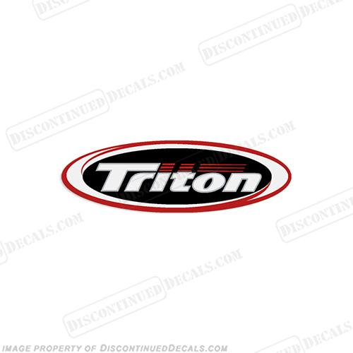 Triton Oval Logo Decal