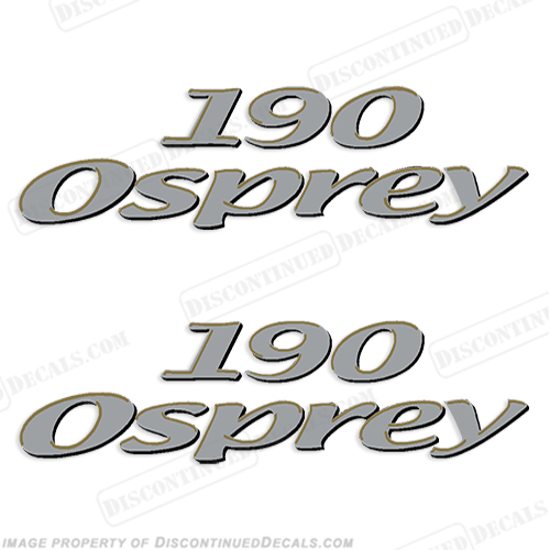 Aquasport Osprey 190 Boat Decals (Set of 2)
