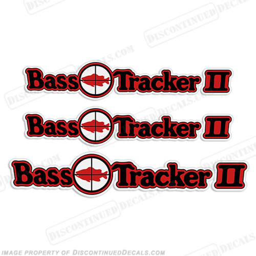 Bass Tracker II Target Boat Decal Package 70, 70s, 2