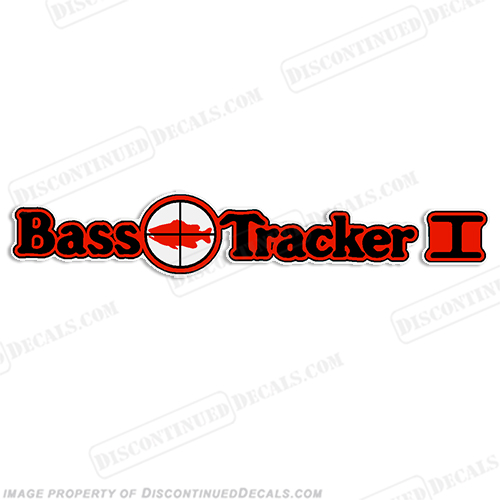 Bass Tracker I Target Boat Decal