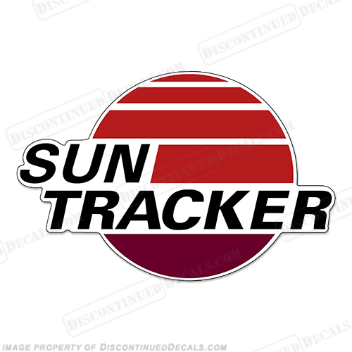 Sun Tracker Boats Logo Decal