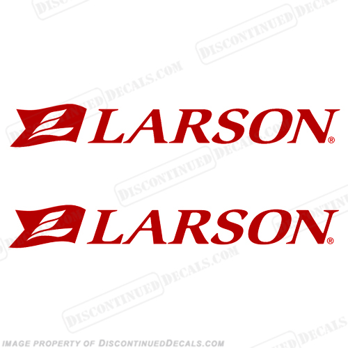 Larson Boat Logo Decals - (Set of 2)