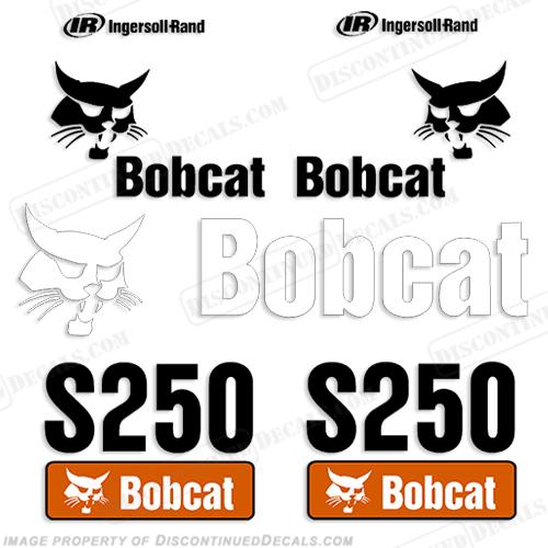 Bobcat S250 Decal Kit