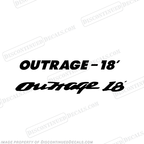 Boston Whaler Outrage 18 Decal
