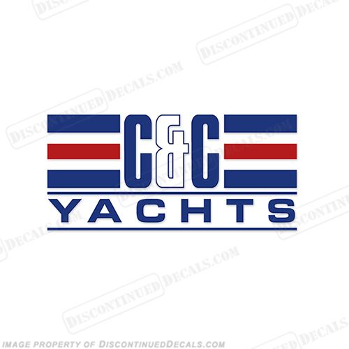 C&C Yachts Logo Decal