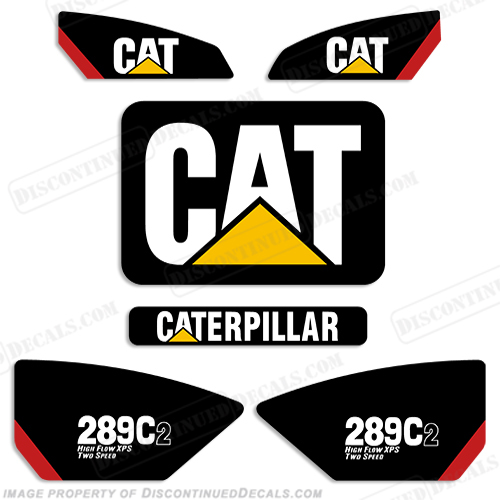 Caterpillar 289C2 Decal Kit