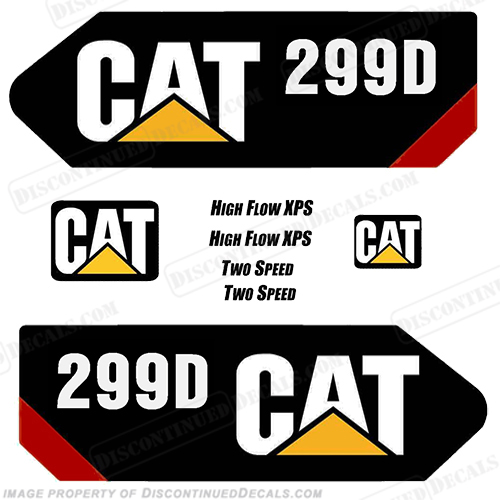 Caterpillar 299D Decal Kit