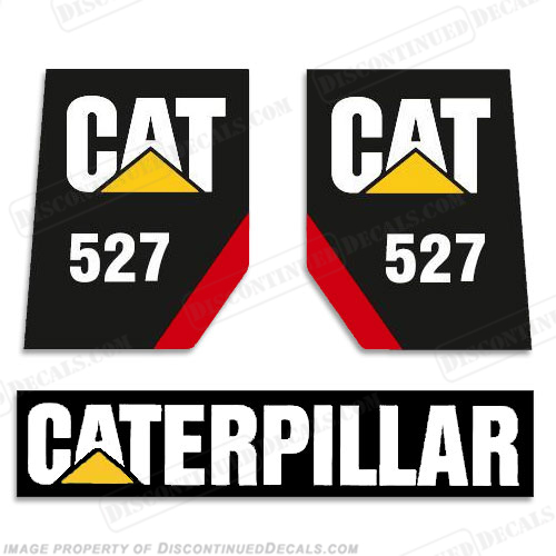 Caterpillar Track Skidder 527 Decal Kit