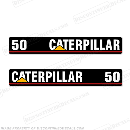 Caterpillar GC25 Forklift Decals