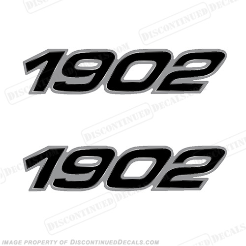 Century Boats 1902 Logo Decals