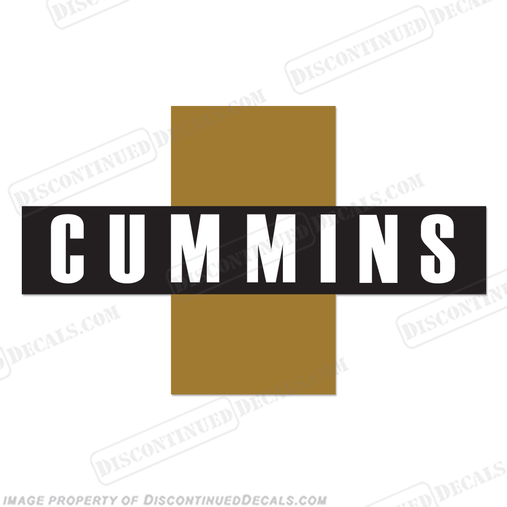 Cummins Logo Decal