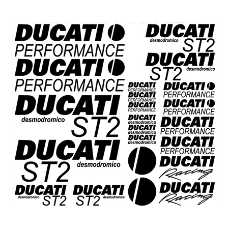 Ducati ST2 desmodromico Decal Kit - Any Color!