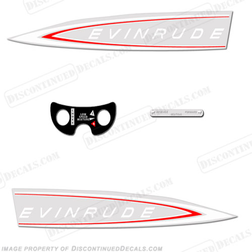 Evinrude 1964 18hp Decal Kit