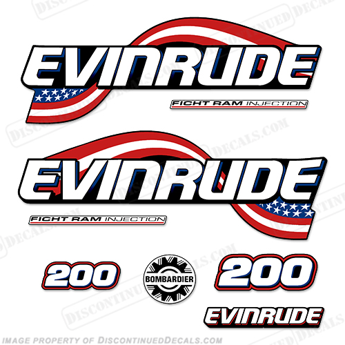 Evinrude Decals, Page 20