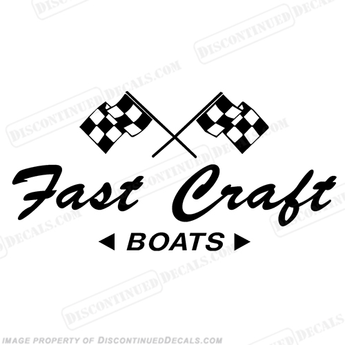 Fast Craft Boat Decal - Any Color!