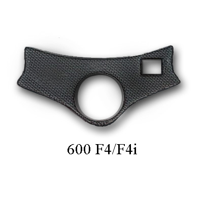 600F4 Carbon Fiber Triple Tree Cover