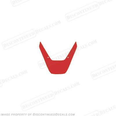 929 Upper Fairing Decal (Red)