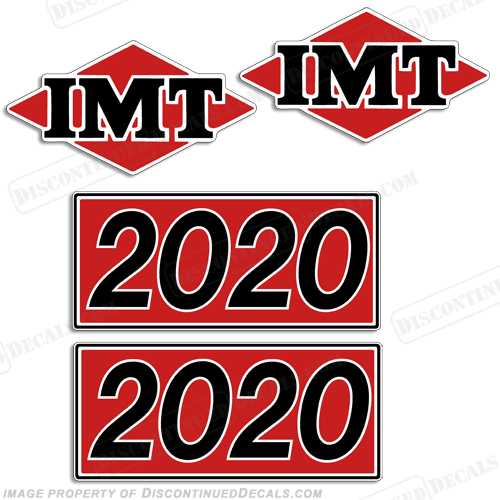 IMT Truck Crane 2020 Decal Kit