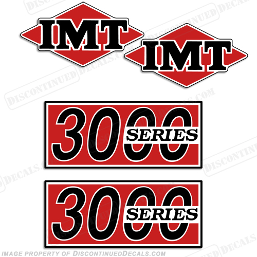 IMT Truck Crane 3000 Series Decals