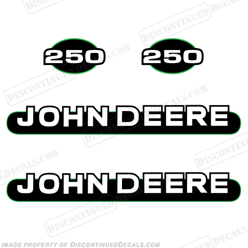John Deere 250 Skid Steer Decals