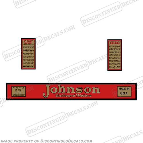 Johnson Decals on