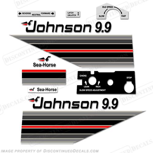 Johnson 1982 9 9hp Decals