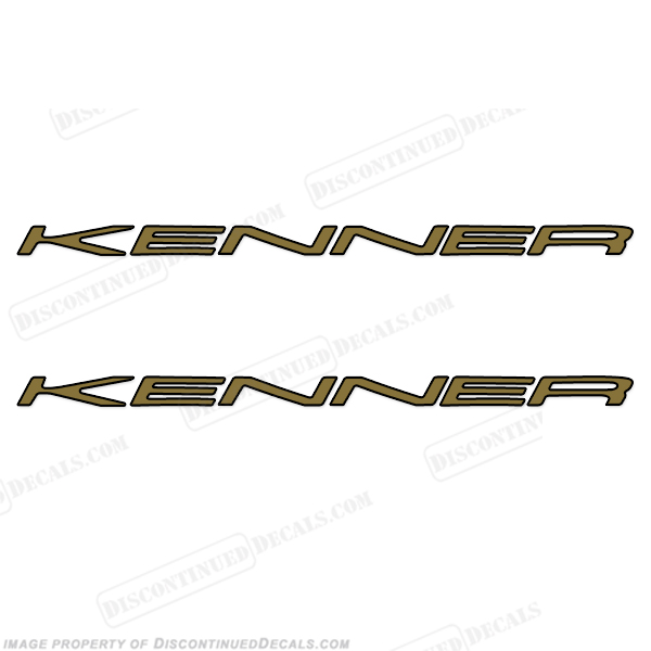 Kenner Boat Logo Decals (Set of 2)