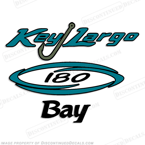 Key Largo 180 Bay Boat Decal